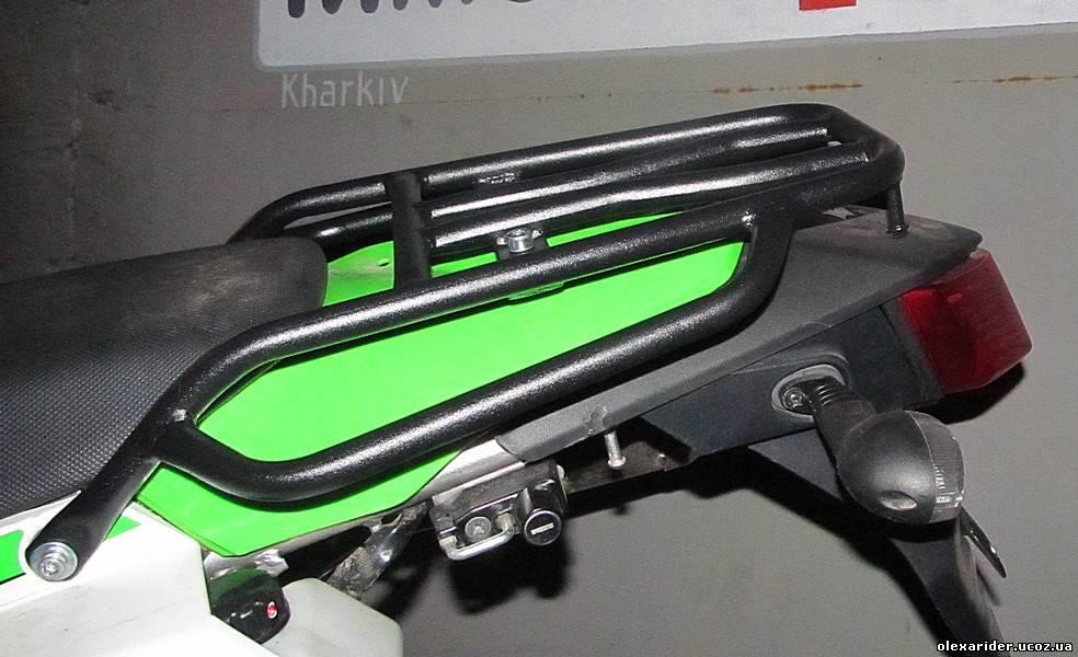 мото багажник, защитные дуги, цельно-сварные багажные системы на мотоциклы.